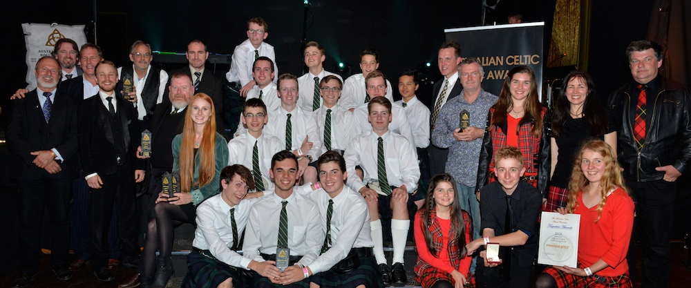 2015 Australian Celtic Music Award Winners