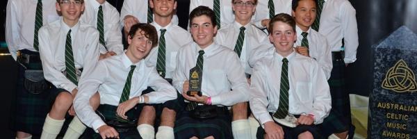 Villanova Irish Ensemble awarded The Wendy Watts Best New Celtic Talent for 2015