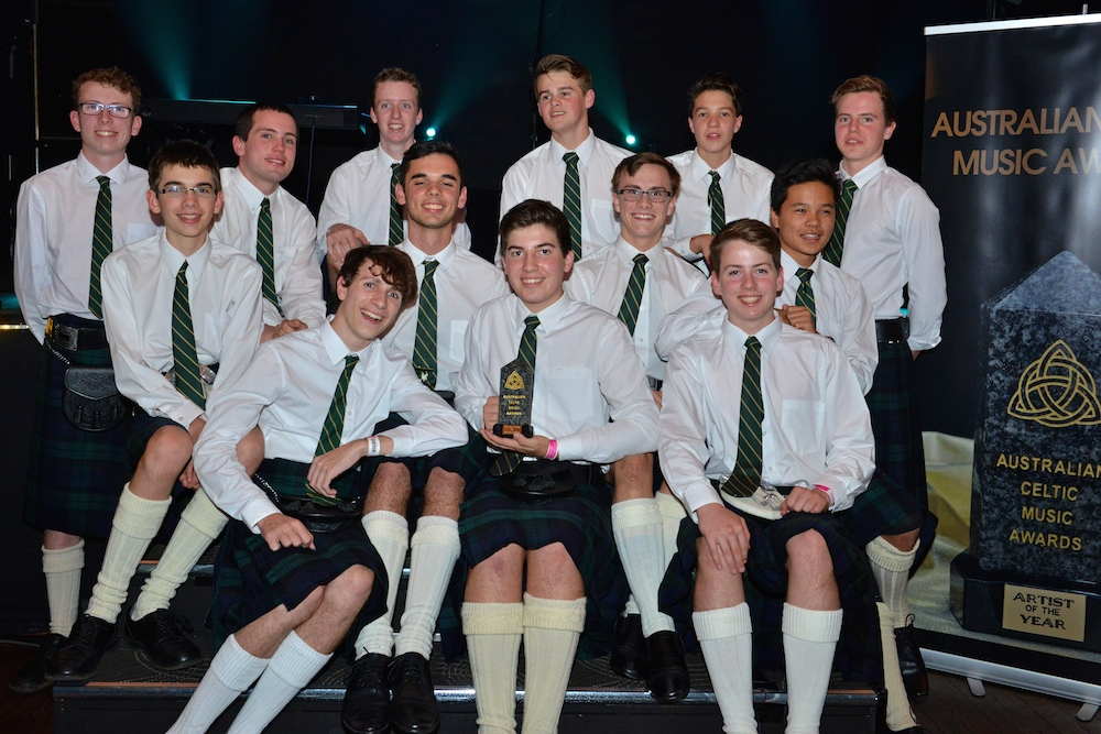 Villanova Irish Ensemble awarded The Wendy Watts Best New Celtic Talent for 2015
