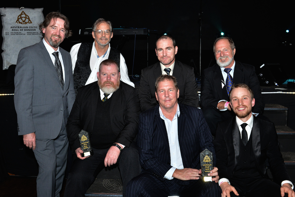 Murphy's Pigs – Album of the Year 2015 for 'In the Lap of the Hogs'and John Graham – Male Australian Celtic Vocalist of the Year 2015