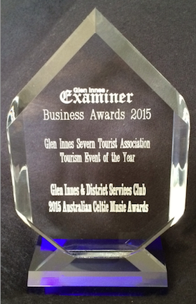 glen innes examiner award
