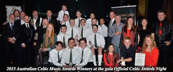 2015 Celtic Music Awards winners