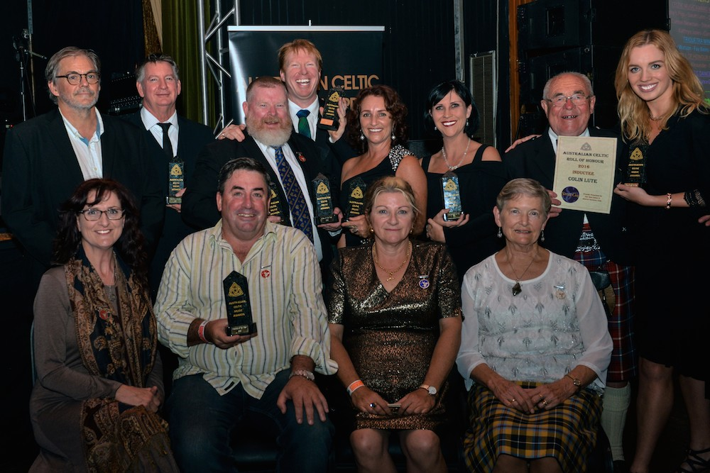 2016 Australian Celtic Music Awards winners