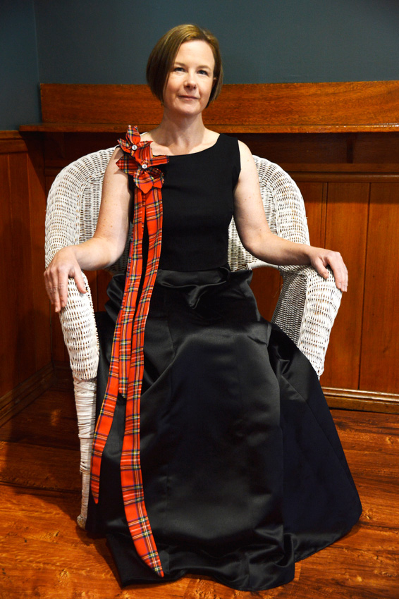 Winner of the Australian Celtic Fashion Awards: Zara Blackmore